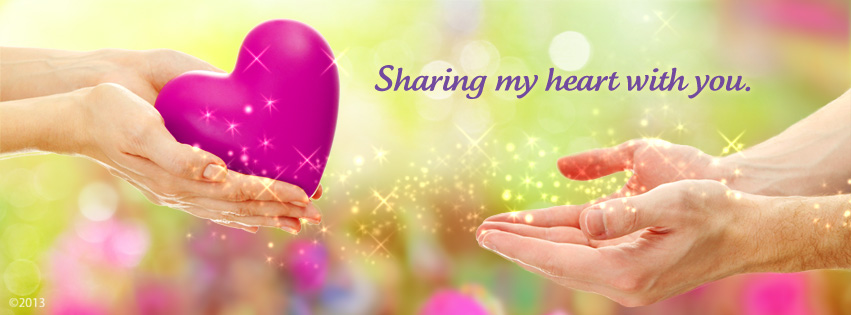 Sharing my heart with you